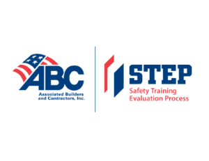 Logos for Associated Builders and Contractors, Inc and Safety Training Evaluation Process