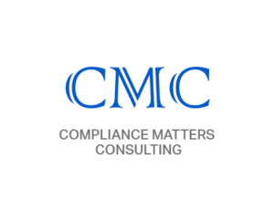 CMC logo in blue with Compliance Matters Consulting underneath