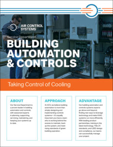ACS Sell Sheet for Building Automation and Controls